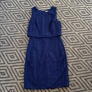J Crew tiered eyelet work dress NWT